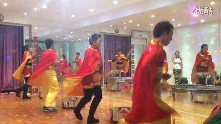 公司年会排舞 苏州升起舞蹈培训企业排舞《水龙鼓》