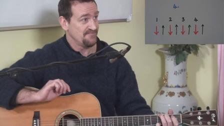 [国语原版]蓝老师吉他教程 第03课:节奏吉他(吉他扫弦)