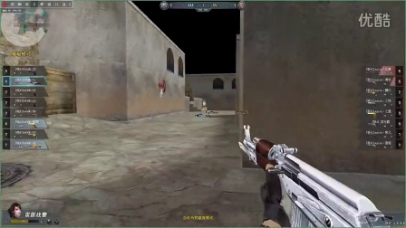 生死狙击官方赛半决赛沙漠下半场DOREMI-NO1-7:1