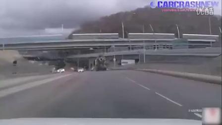 积雪路面细心开慢车(二)