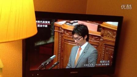 日本议员质问