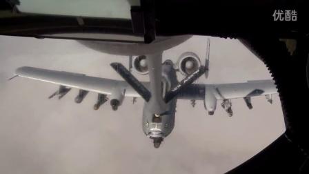 美军A10 攻击机 载弹空中加油