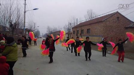 高唐县清平镇沈庄村路平广场舞  过河 扇子舞