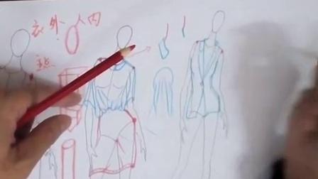 20140329女人人体穿西装