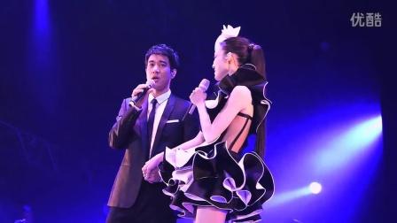 范范范瑋琪x王力宏 演唱黑白配加上Forever Love