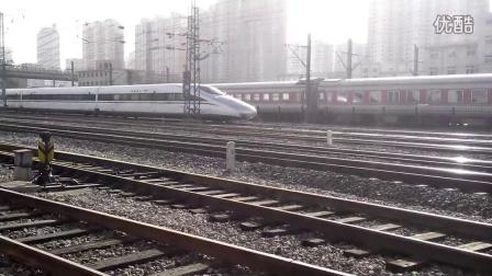 济南站高铁普速同时接发列车