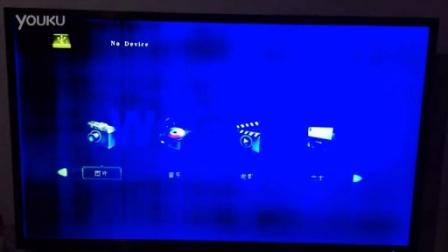 电视机颜色不正常,蓝色变黑!!!