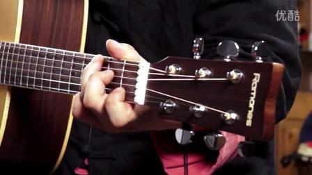 指弹吉他演奏家柴海青《外面的世界》雷蒙斯吉他RD76M视听