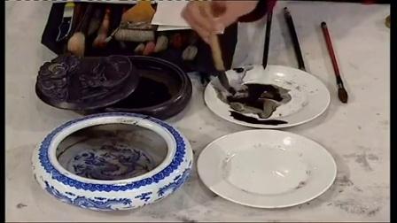 国画古代仕女图画法孟康国画 画法