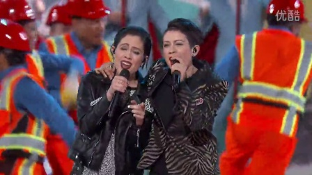 Tegan and Sara perform their Lego Movie hit song, -Everything is Awesome- at The