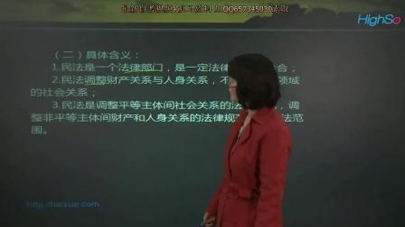 自考 民法学 最新视频教程资料课件 精讲班01
