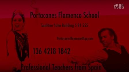 Portacones Flamenco School 2015