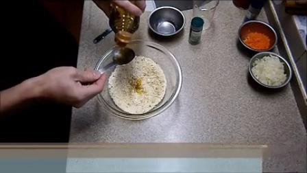 『筋肉料理人』罗勒面包糠香烧竹笋鸡『@FoodForFun』