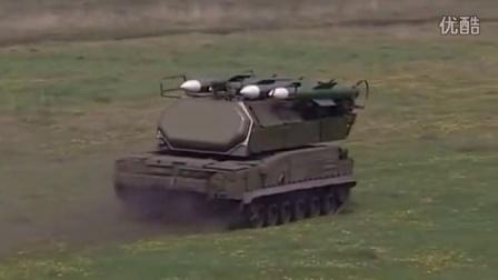 """萨姆17防空系统实战演练  (""""山毛榉""""-M1-2)"""