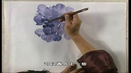 寿桃国画视频