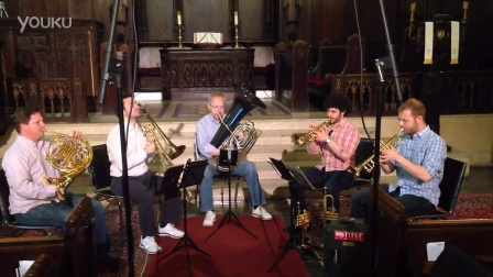 Canadian Brass Rehearses Bach