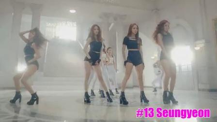 【韩国女团】K-POP韩国女团 主唱 排名 Top25【2015】