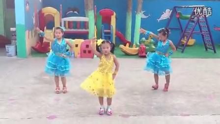 莱芜沙埠子幼儿园神曲小苹果儿童舞蹈 高清莱钢阿成官方视频