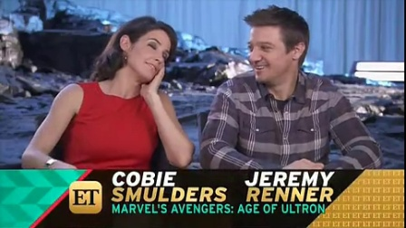 ENTERTAINMENT TONIGHT: Behind the scenes of Avengers: Age of Ultron