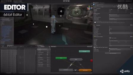 Unity5发布针对独立开发者的免费版本!是用于创建游戏的最佳开发平台!Unity 5 Launch Trailer