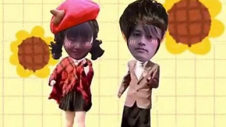 视频中的女孩是朱满的姐姐 朱宝强的女儿 视频中的帅哥是南佳也