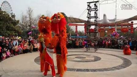 漯河风情 庙会《天塔舞狮》