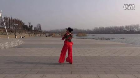 沭河之光广场舞原创博尔塔拉我的爱 ...