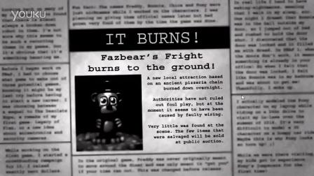 FNAF系列-《玩具熊的五夜后宫3》最后一晚结尾-typhooncinema出品