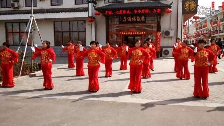 沂水雪山风情街广场舞