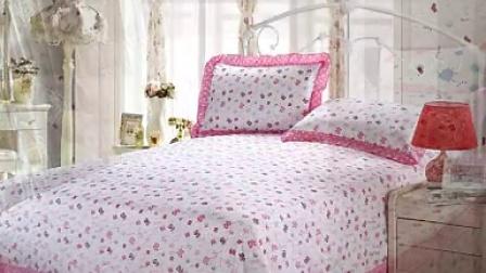 韩版全棉四件套  田园公主床纯棉床上用品 小清新可爱花边床