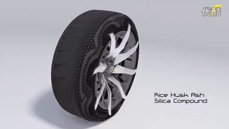 GoodYear TripleTube Tyre Concept