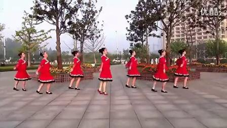 蓉城舞乐乐学跳这个视频--《北京的金山上》