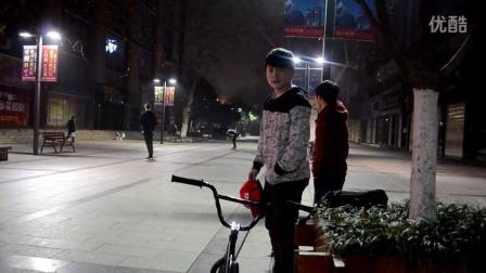 宜昌滑板  刘佳明与他好基友 步行街 SK