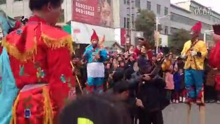 南召春节民俗 高跷(2015正月16)1425636213117
