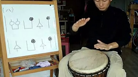 非洲鼓教学 基本节奏08