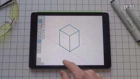 概念画板教程:四种画立方体的方法