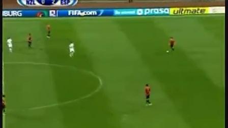 09年西班牙5-0大胜新西兰,?#27427;?#26031;帽子戏法
