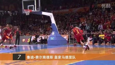 14-15赛季【EuroLeague】16强赛第9轮-十佳球