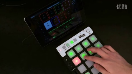 GrooveMaker 2 & iRig Pads 表演