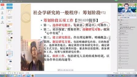 2015.3.8 直播 赵志远 社会学概论 上_转