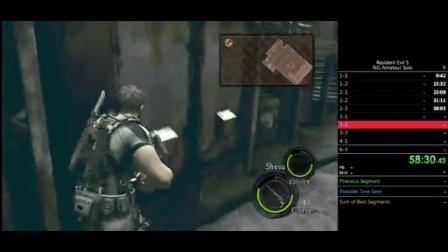 PC 生化危机5 New Game Solo RTA 2:13:24