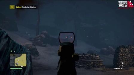【蒹葭视频组-阿怪出品】孤岛惊魂4雪人谷DLC第一期