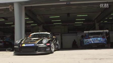柏曼德先生体验Porsche 911 GT3 Cup赛车