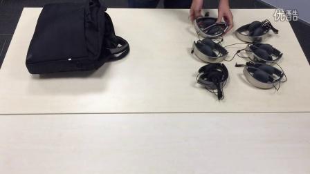 舒尔便携式头戴耳机