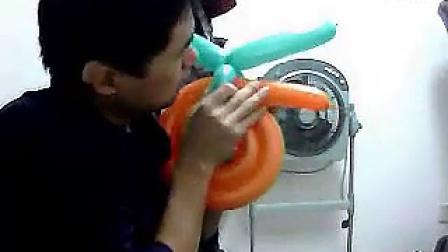 南京气球达人工作室  魔术气球培训—自行车 标清