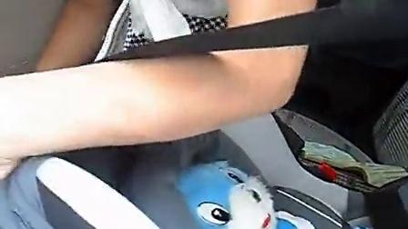 提篮式婴儿安全座椅 安装及调节[高清]