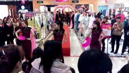 实拍2015株洲三八妇女节美女热舞