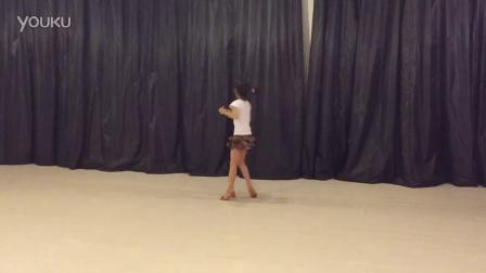 大庆市舞月舞蹈艺术培训学校、1班拉丁李欣桐