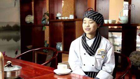 我叫王蕊我爱西点我在陕西新东方烹饪学校