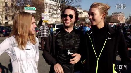 【Karlie吧】Karlie Kloss  Ran a Half-Marathon Smack in the Middle